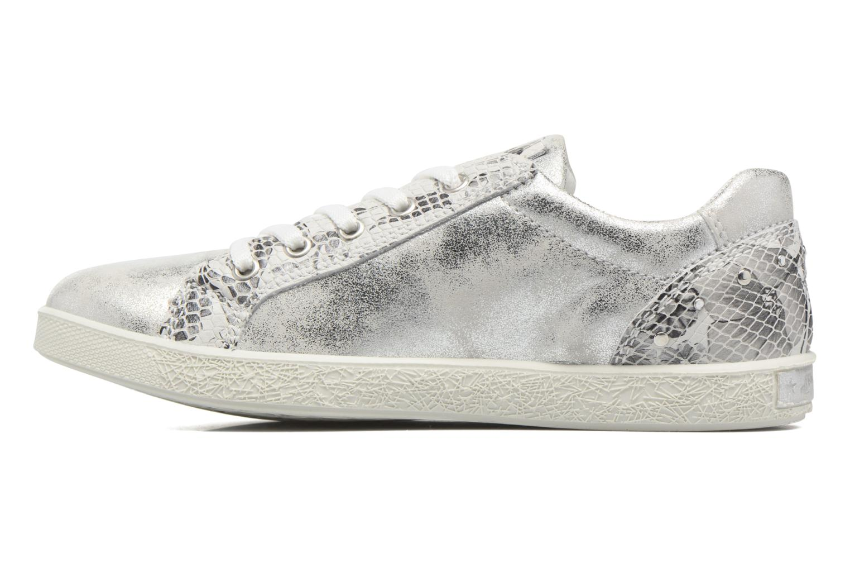 Sneakers Primigi Lorenza Zilver voorkant