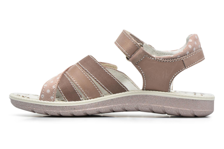 Sandales et nu-pieds Primigi Rita Marron vue face