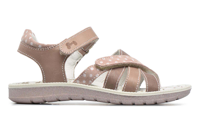 Sandales et nu-pieds Primigi Rita Marron vue derrière