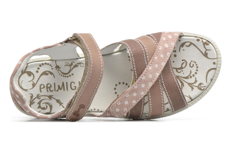 Sandales et nu-pieds Primigi Rita Marron vue gauche