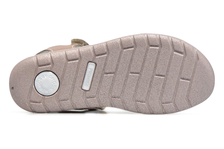 Sandales et nu-pieds Primigi Rita Marron vue haut