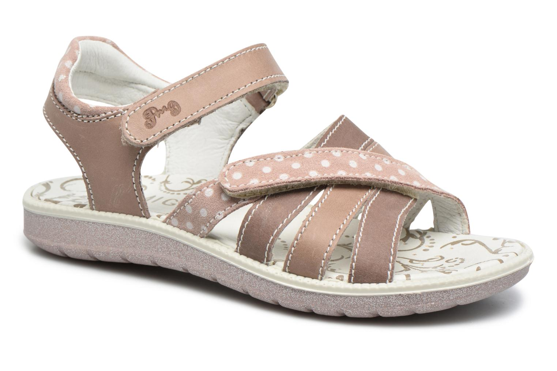 Sandales et nu-pieds Primigi Rita Marron vue détail/paire