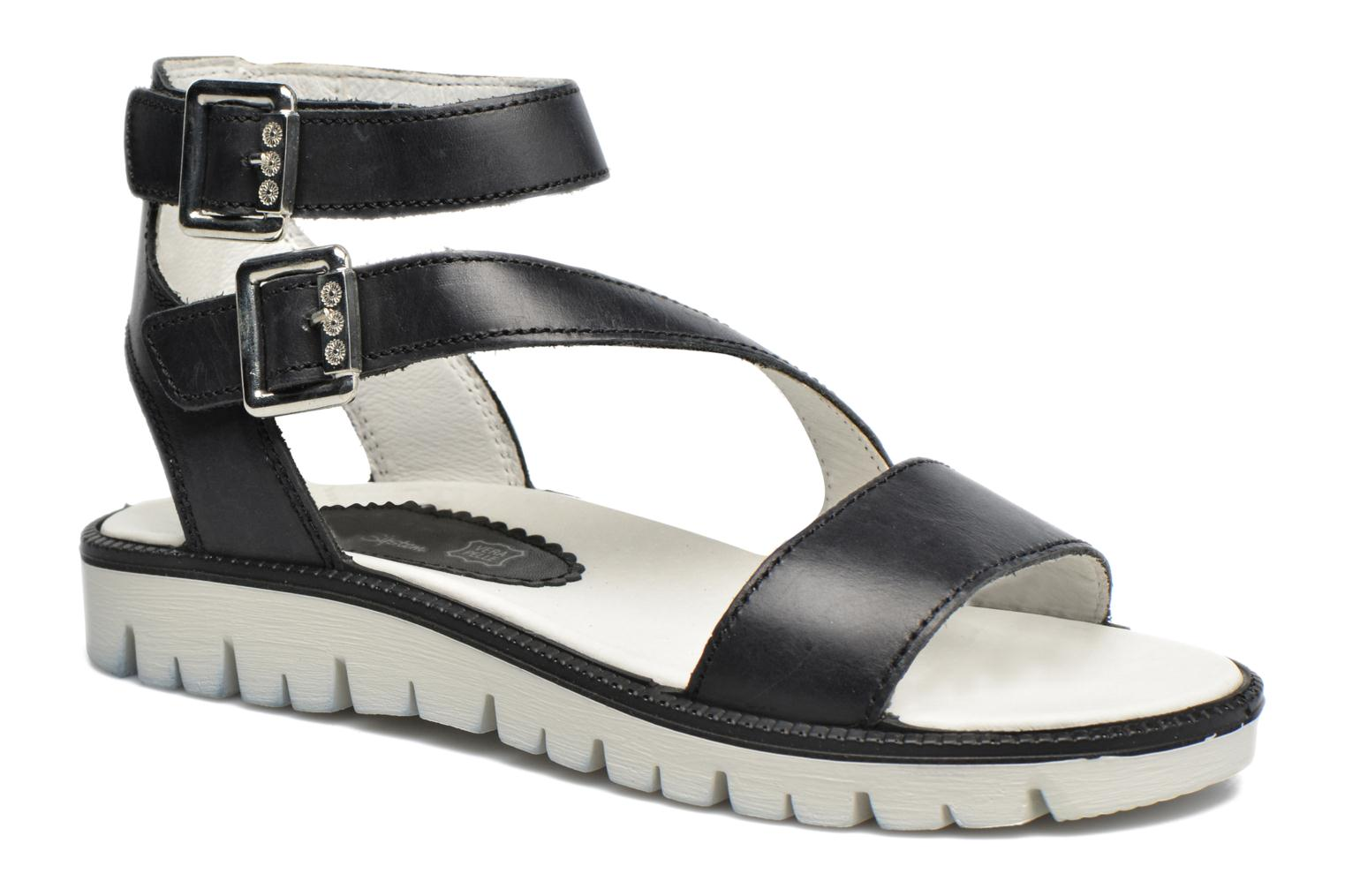 Sandals Primigi Alena Black detailed view/ Pair view