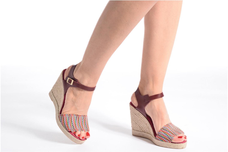 Sandales et nu-pieds Pare Gabia Athena Multicolore vue bas / vue portée sac