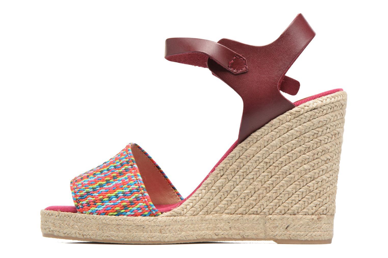 Sandales et nu-pieds Pare Gabia Athena Multicolore vue face