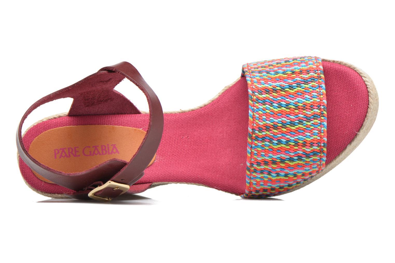 Sandales et nu-pieds Pare Gabia Athena Multicolore vue gauche