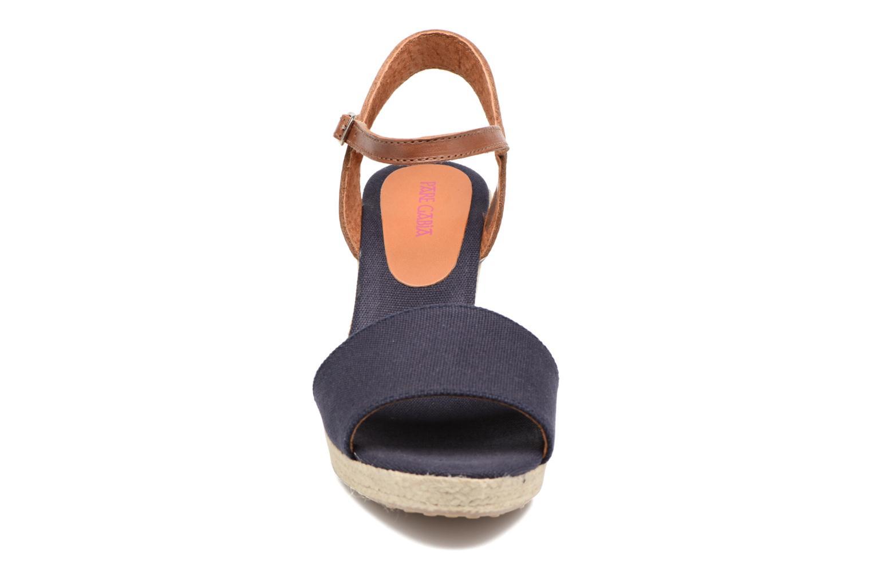 Sandales et nu-pieds Pare Gabia Marina Bleu vue portées chaussures