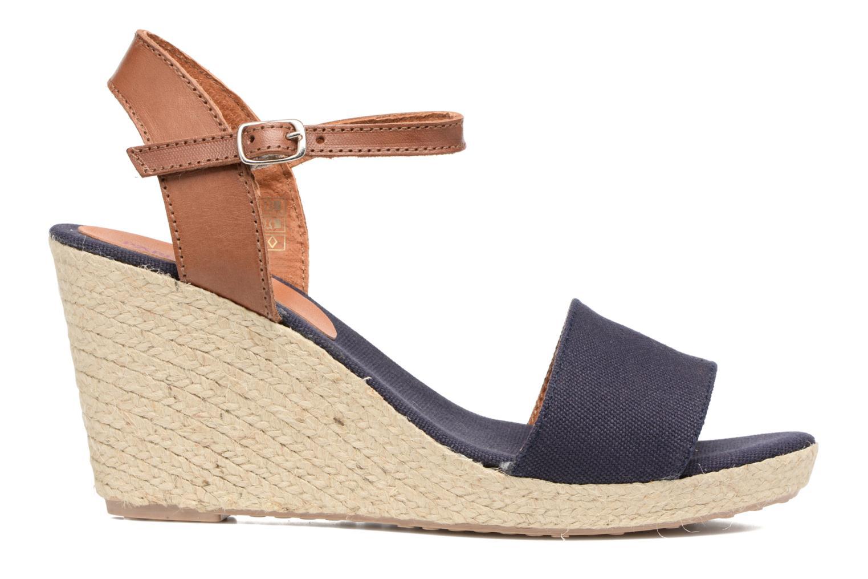 Sandales et nu-pieds Pare Gabia Marina Bleu vue derrière