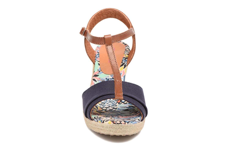 Sandales et nu-pieds Pare Gabia Mirage Bleu vue portées chaussures