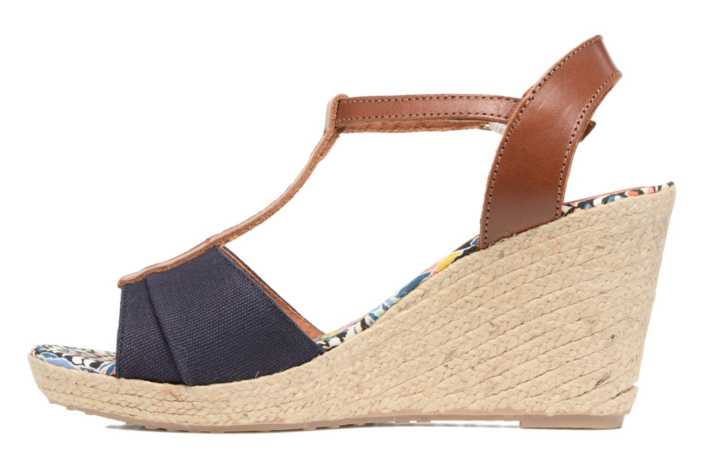 Sandales et nu-pieds Pare Gabia Mirage Bleu vue face
