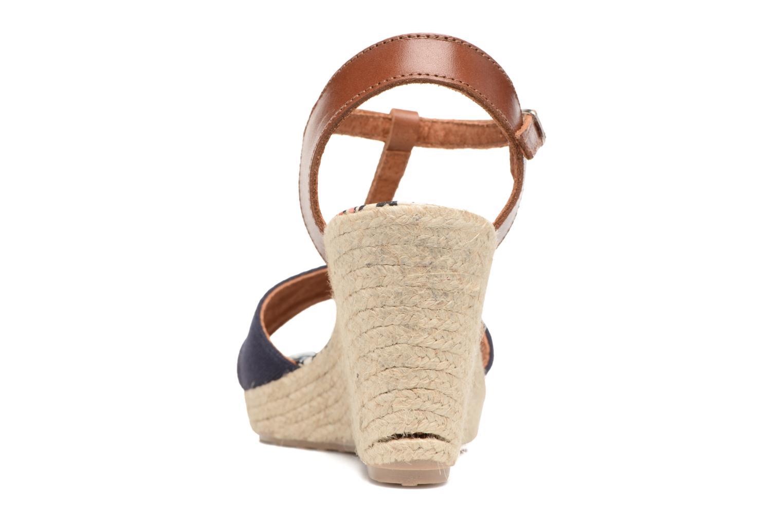 Sandales et nu-pieds Pare Gabia Mirage Bleu vue droite