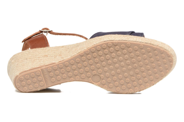 Sandales et nu-pieds Pare Gabia Mirage Bleu vue haut