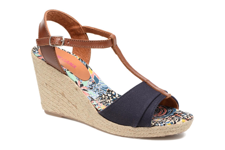 Sandales et nu-pieds Pare Gabia Mirage Bleu vue détail/paire