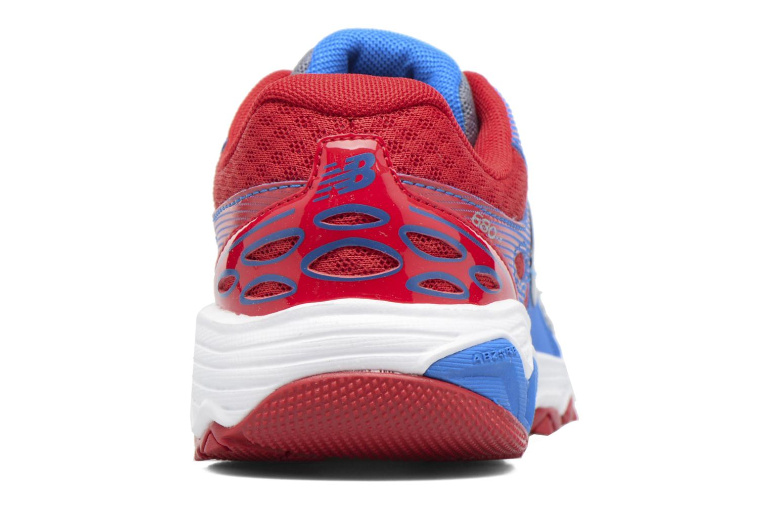 Baskets New Balance KR680 Multicolore vue droite