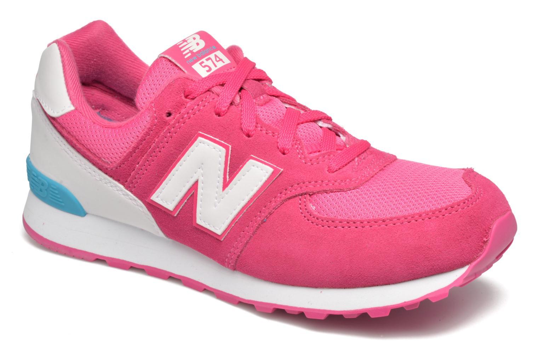 KL574 Jr Pink White