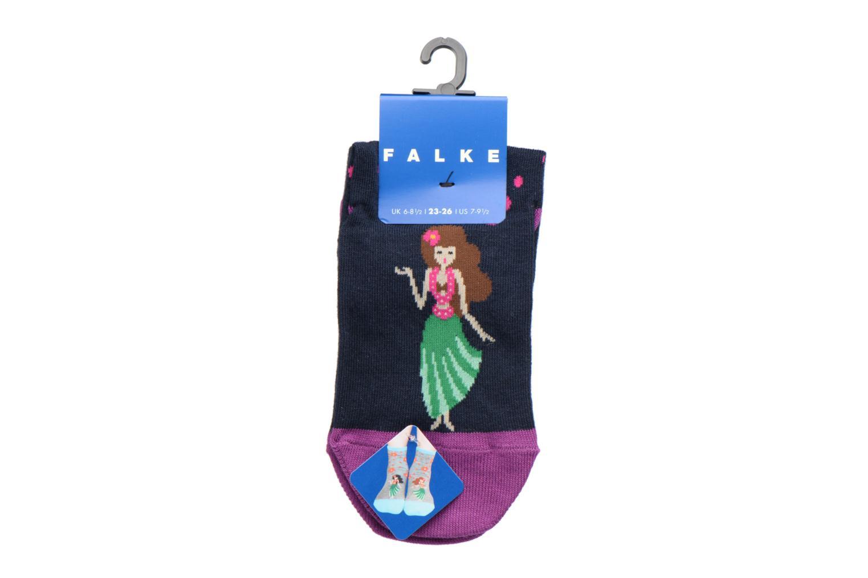 Chaussettes et collants Falke Socquettes HULA GIRL SHORT Coton Multicolore vue derrière