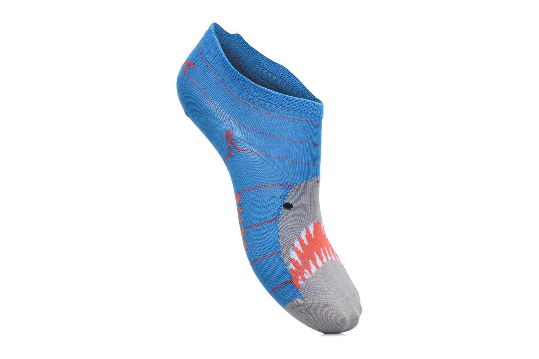 Chaussettes et collants Falke Mini-Socquettes SHARKY SNEAKER Coton Bleu vue détail/paire