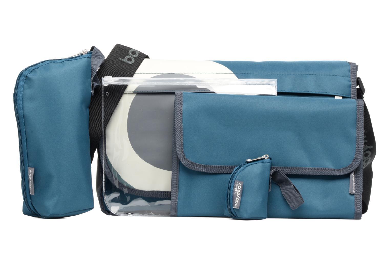 Sacs à main Babymoov Sac à Langer Messenger Bag Bleu vue gauche