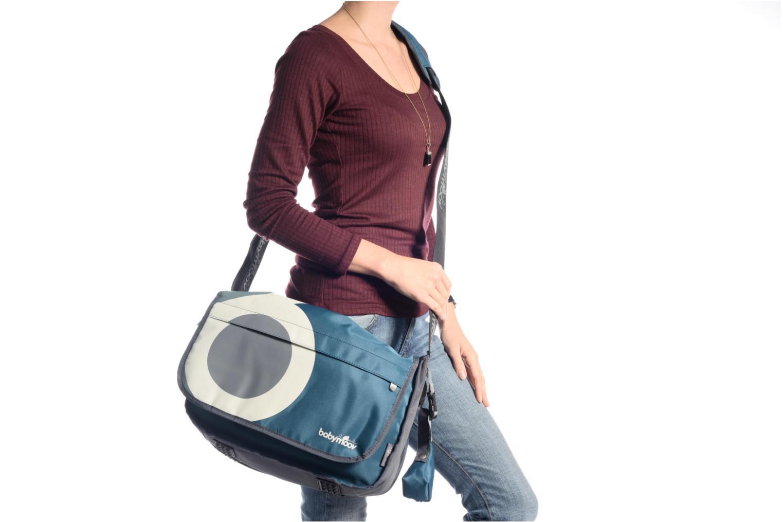 Sacs à main Babymoov Sac à Langer Messenger Bag Bleu vue haut