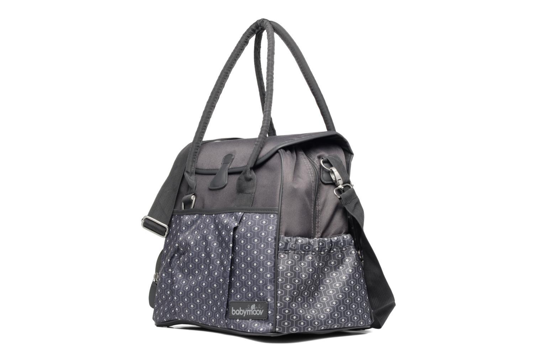 Sacs à main Babymoov Sac à Langer Style Bag Gris vue portées chaussures
