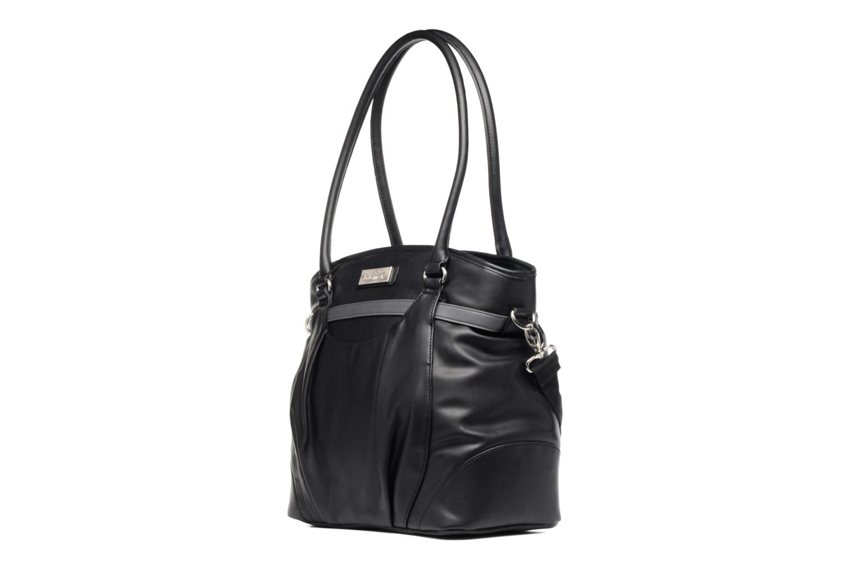 Handtaschen Babymoov Sac à Langer Glitter Bag schwarz schuhe getragen