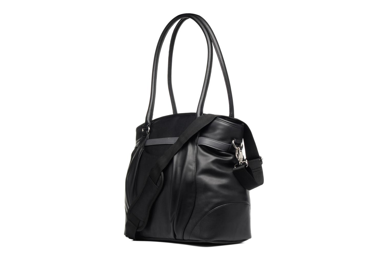 Handtaschen Babymoov Sac à Langer Glitter Bag schwarz ansicht von rechts