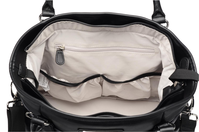 Handtaschen Babymoov Sac à Langer Glitter Bag schwarz ansicht von hinten