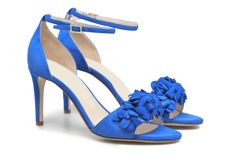 Sandales et nu-pieds L.K. Bennett Claudie Bleu vue 3/4