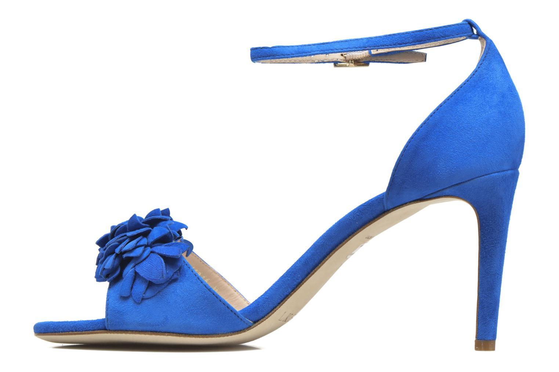 Sandales et nu-pieds L.K. Bennett Claudie Bleu vue face
