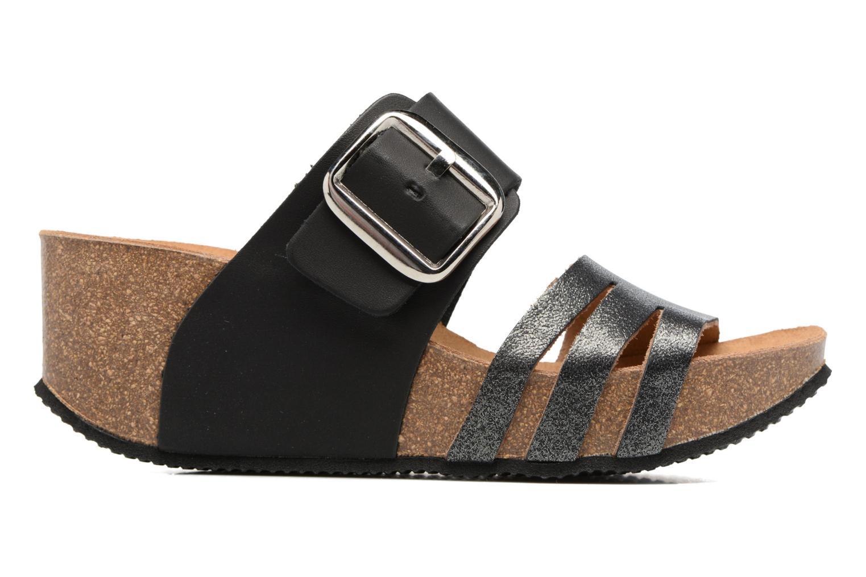 Sandales et nu-pieds Rondinaud Cance Noir vue derrière