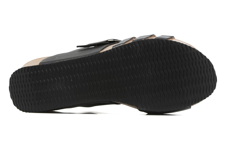 Sandales et nu-pieds Rondinaud Cance Noir vue haut