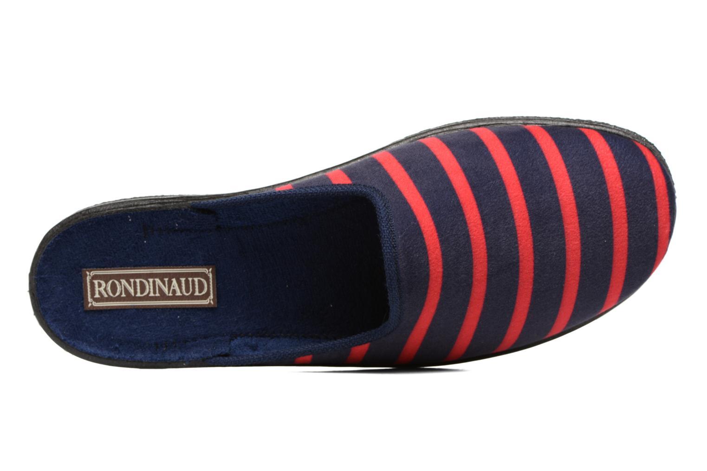 Chaussons Rondinaud Sedan Sub 44-1 Bleu vue gauche