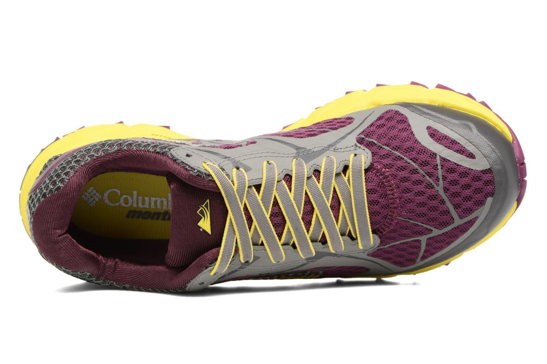 Chaussures de sport Columbia Caldorado II W Violet vue gauche