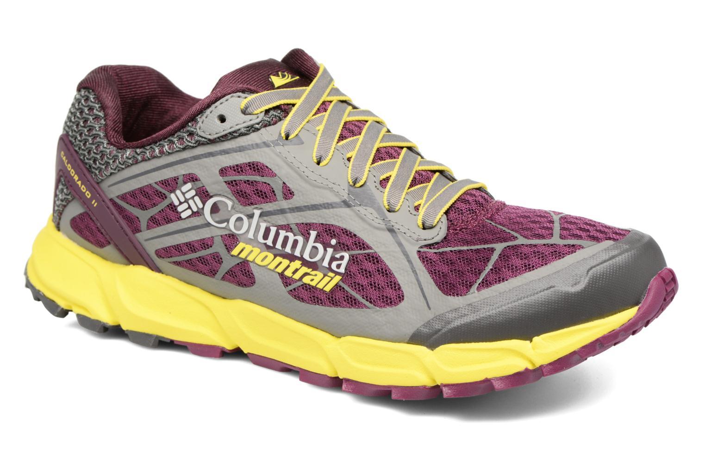 Chaussures de sport Columbia Caldorado II W Violet vue détail/paire