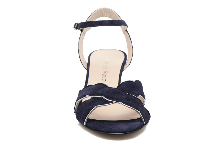 Sandales et nu-pieds Georgia Rose Expato Bleu vue portées chaussures
