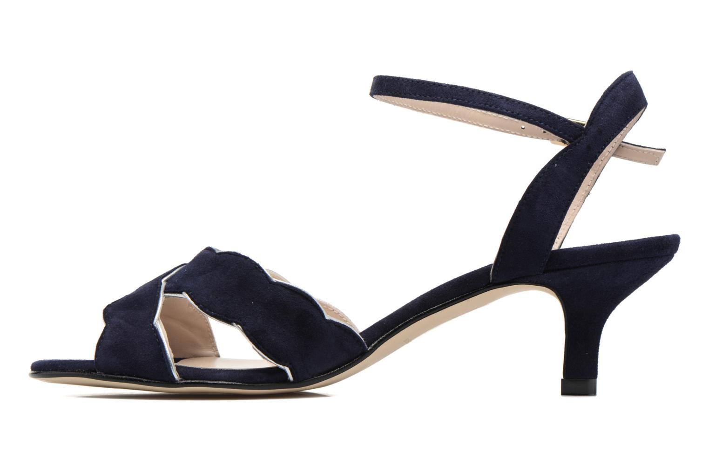 Sandales et nu-pieds Georgia Rose Expato Bleu vue face