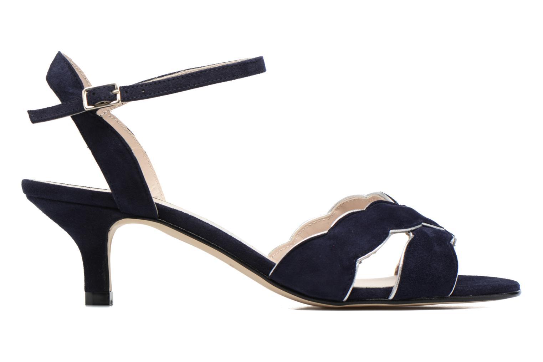 Sandales et nu-pieds Georgia Rose Expato Bleu vue derrière