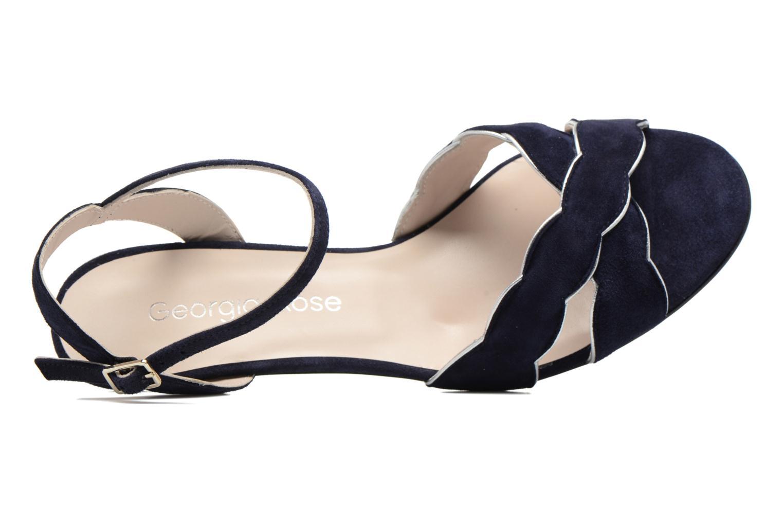 Sandales et nu-pieds Georgia Rose Expato Bleu vue gauche