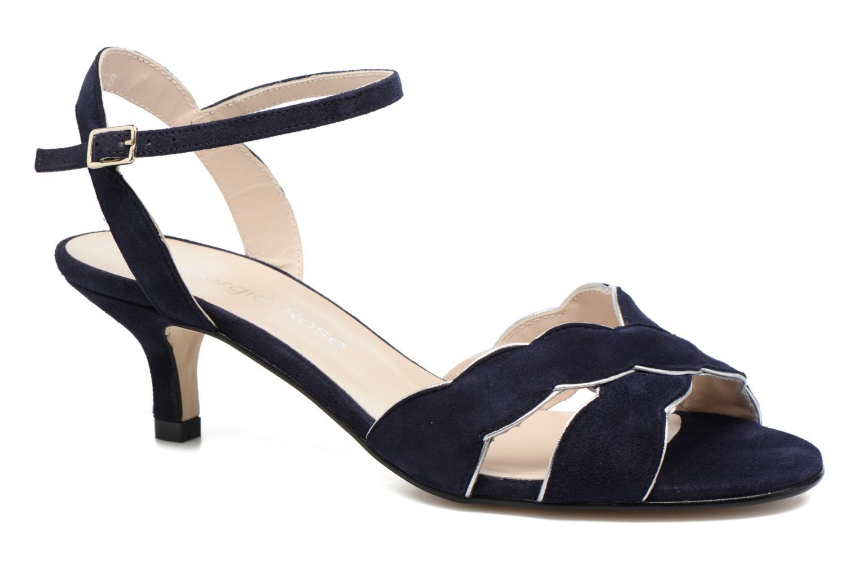 Sandales et nu-pieds Georgia Rose Expato Bleu vue détail/paire