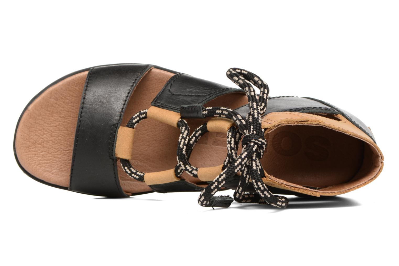Sandalen Sorel Torpeda lace II Zwart links
