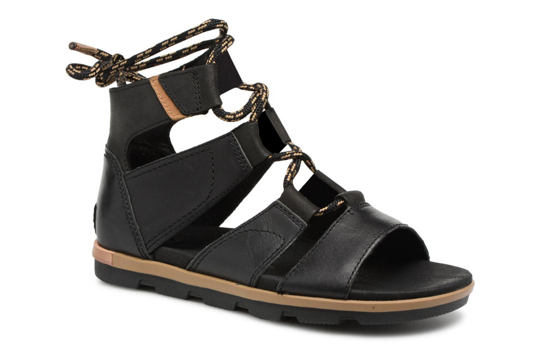Zapatos promocionales Sorel Torpeda lace II (Negro) - Sandalias   Zapatos de mujer baratos zapatos de mujer