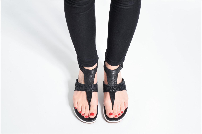 Sandales et nu-pieds Sorel Torpeda Ankle Strap Marron vue bas / vue portée sac