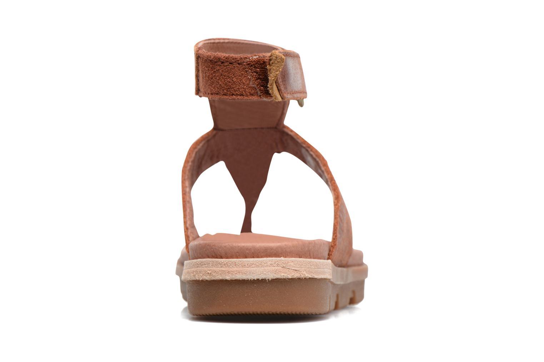 Sandales et nu-pieds Sorel Torpeda Ankle Strap Marron vue droite