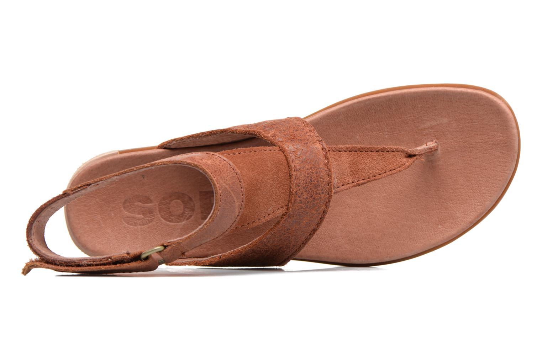 Sandales et nu-pieds Sorel Torpeda Ankle Strap Marron vue gauche
