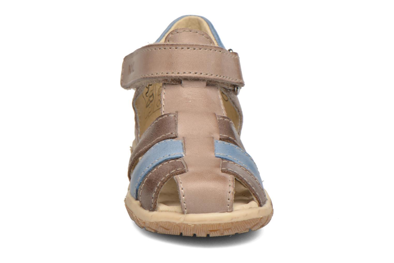 Sandales et nu-pieds Noël Mini Tin Multicolore vue portées chaussures