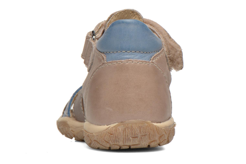 Sandales et nu-pieds Noël Mini Tin Multicolore vue droite