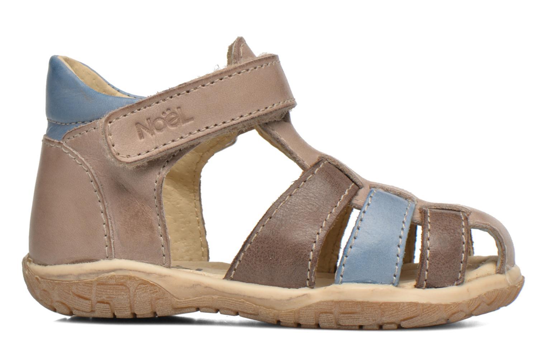 Sandales et nu-pieds Noël Mini Tin Multicolore vue derrière