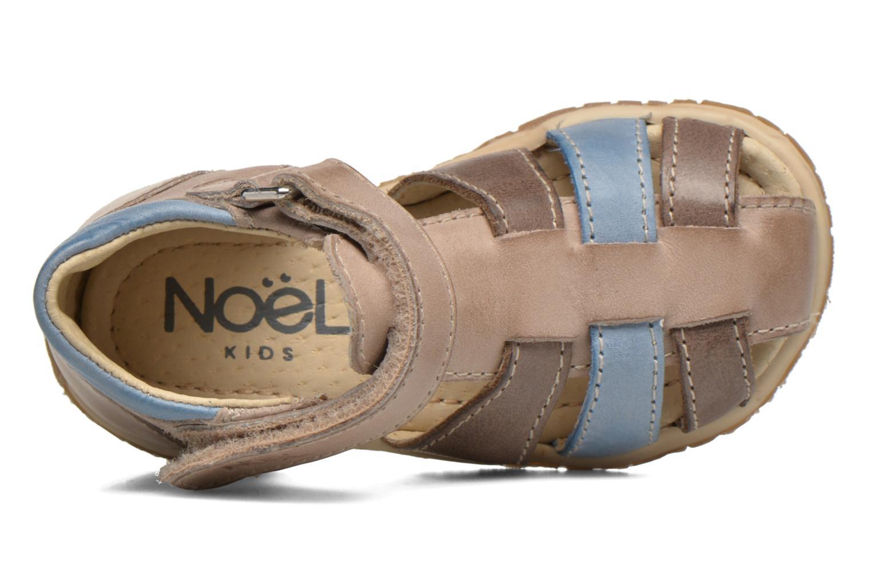 Sandales et nu-pieds Noël Mini Tin Multicolore vue gauche