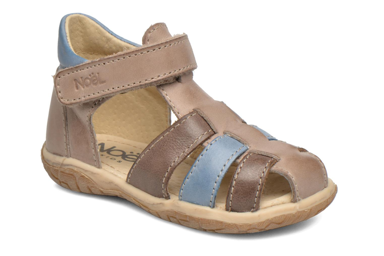 Sandales et nu-pieds Noël Mini Tin Multicolore vue détail/paire