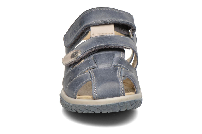Sandales et nu-pieds Noël Tyler Bleu vue portées chaussures